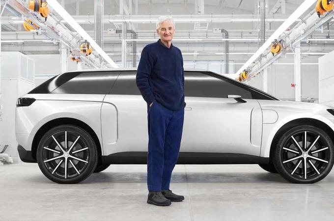James Dyson electric car