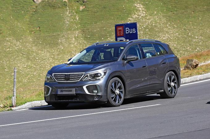 2021 Volkswagen ID 6 prototype - front