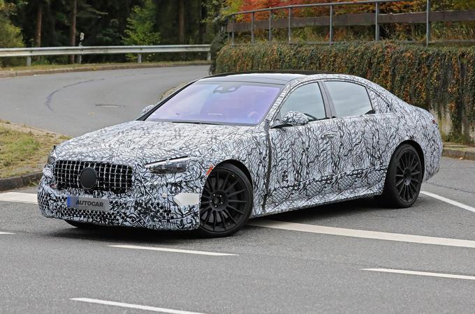 2020 Mercedes-AMG S63 prototype