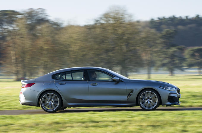 BMW 8 Series Gran Coupe 2019 UK first drive review - hero right