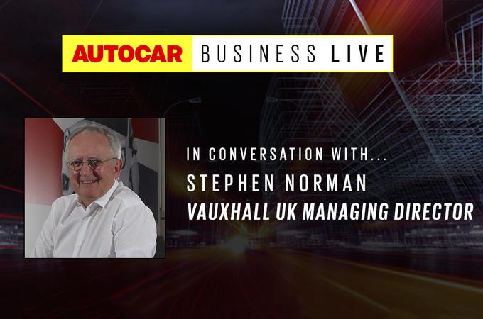 Autocar Business live - Stephen Norman