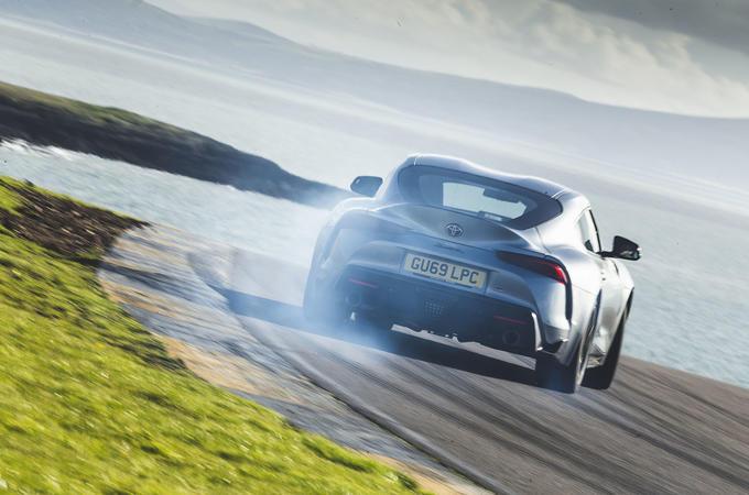 Anglesey circuit - Toyota Supra