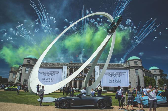 Goodwood 2019 Aston Martin moment