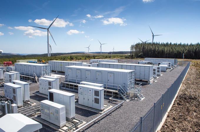 National grid batteries