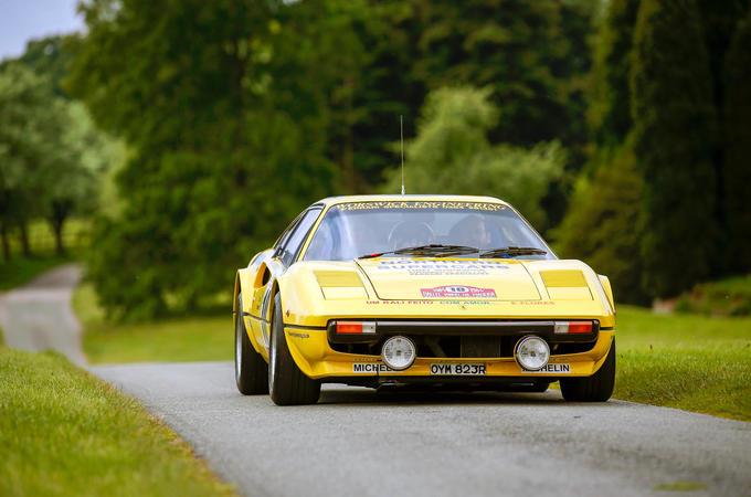 Ferrari 308 GTB rally car Cholmondeley Power and Speed