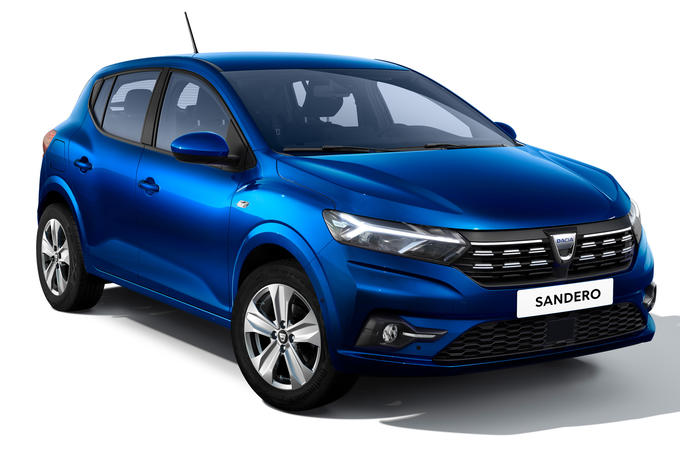 Dacia Sandero 2021 official images - Sandero front
