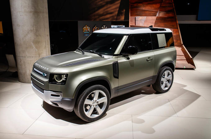 2020 Land Rover Defender revealed at Frankfurt motor show