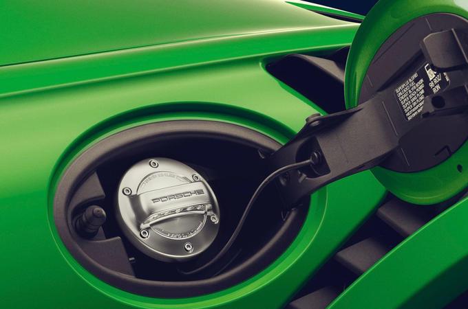 Porsche fuel filler cap