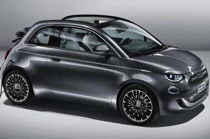 Fiat 500e 2020 leaked images - lead