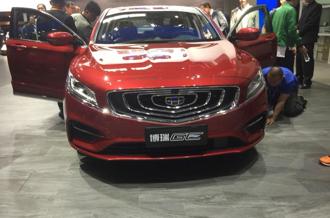 Geely Bo Rui GE revealed with Volvo plug-in hybrid engine