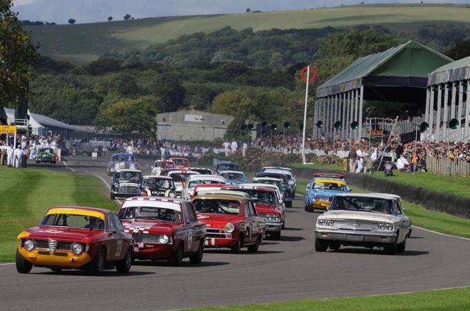 Goodwood Revival historic racing