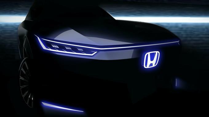 Honda EV concept for Beijing