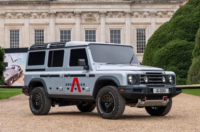 2021 Ineos Grenadier at Hampton Court - static