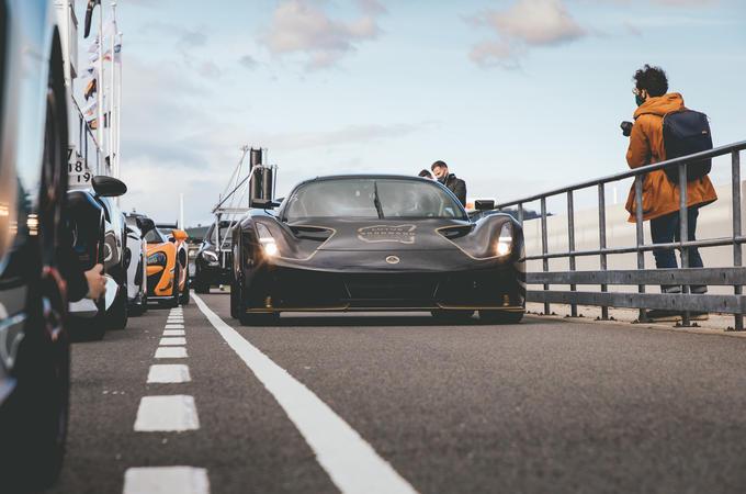 2020 Lotus Evija prototype at Goodwood Speedweek