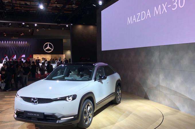 Mazda MX-30 at Tokyo motor show - front