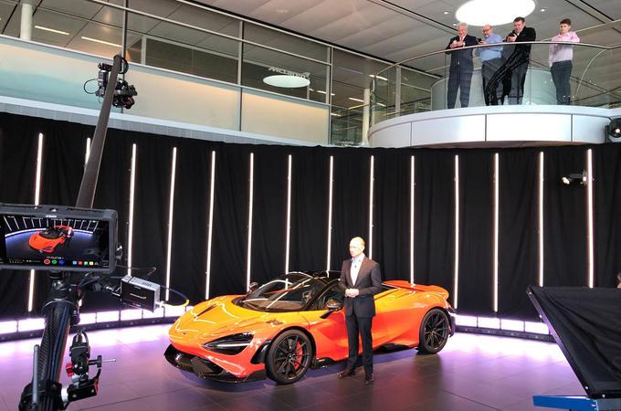 McLaren 765LT reveal - presentation
