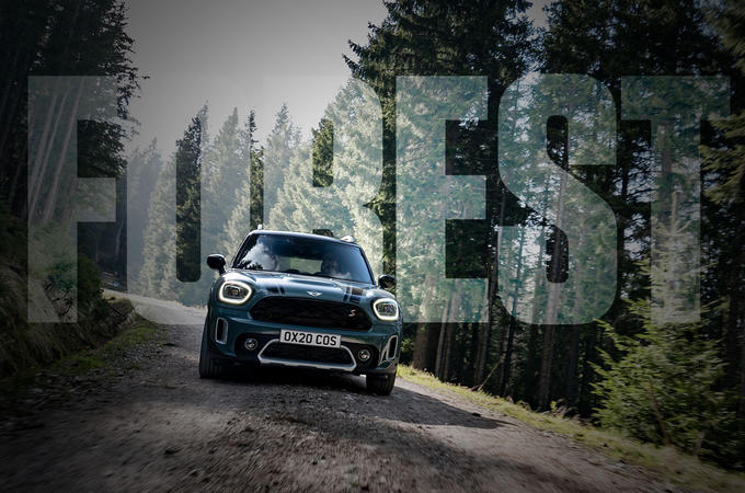 MINI Countryman: Forest adventures