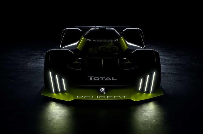 Peugeot Le Mans hypercar front