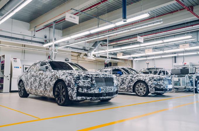 Rolls Royce Ghost camo