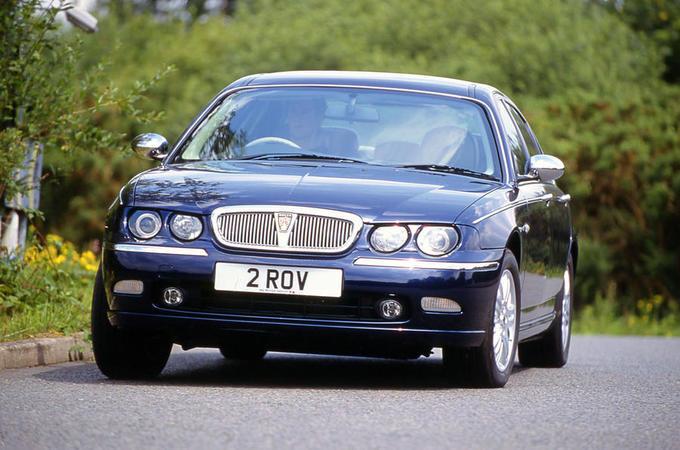 Rover 75 - hero front