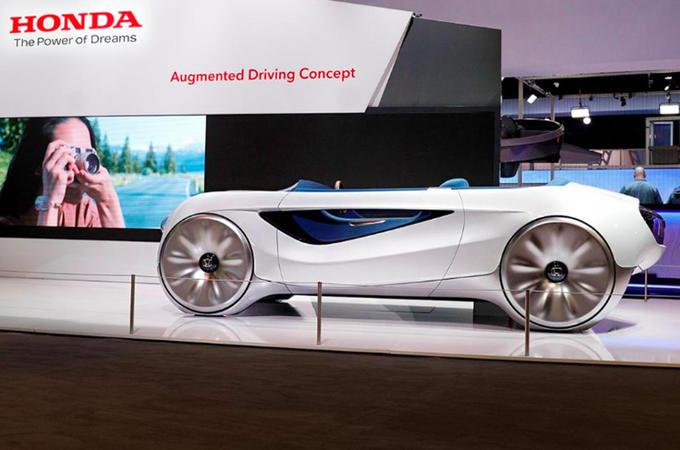2020 Honda Augmented Driving concept