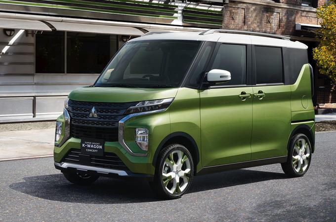 Mitsubishi Super Height K-Wagon - front