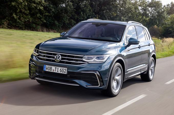 2020 Volkswagen Tiguan - hero front