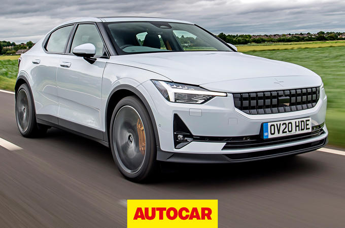 2020 Polestar 2 video review - hero front