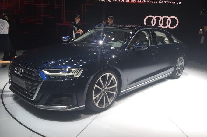 Audi A8 L arrives as 5.3-metre luxury saloon
