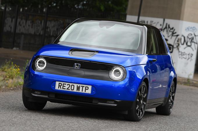 Honda e 2020 long-term review - hero front