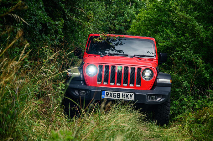 Jeep Wrangler Rubicon 2020 long-term review - hero front