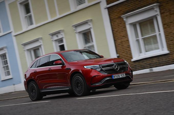 Mercedes-Benz EQC 2020 long-term review - hero front