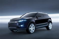 Range Rover LRX's 2010 launch