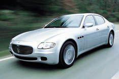Maserati's new 400bhp four-door driven