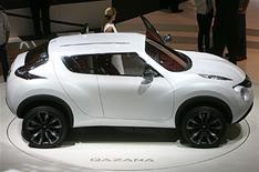 Nissan Qazana could go electric