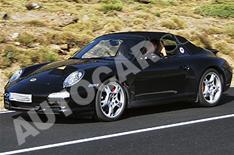Porsche 911 hybrid spied