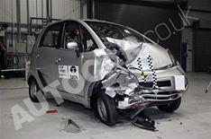 Tata Nano crash test on video