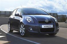 No Toyota Yaris hybrid yet