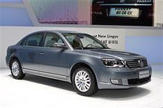 Chinese VW Passat launched