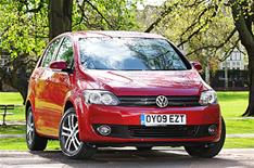 New VW Golf Plus BlueMotion