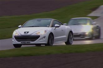 Economy test video: RCZ HDi vs 911 Turbo S