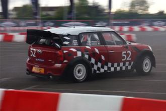 Mini Countryman WRC testing video
