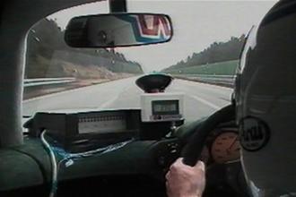 McLaren F1 driven flat-out video