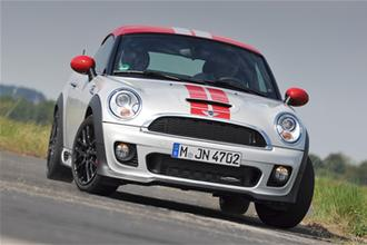 Mini Coupe JCW video review