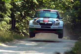 Skoda rally car video review