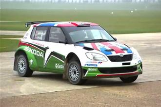 Goodwood 2011 Skoda Rally preview video