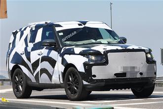 New Range Rover spy video