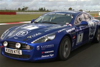 Aston Martin Rapide racer video review