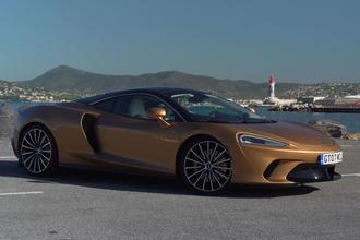 McLaren GT in St Tropez - static side