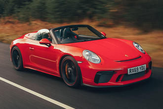 Porsche 911 Speedster 2019 video review